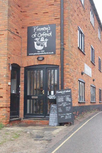 Treat yourself to the finest oysters, smoked salmon and a great range of seafood.   http://www.visit-orford.co.uk/destinations/pinneys-of-orford, Suffolk