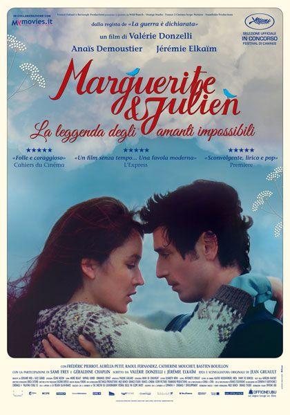Marguerite et Julien , 2015 France , by Valérie Donzelli . Julien de Ravalet ( Jérémie Elkaïm )  and his sister Marguerite de Ravalet  (Anaïs Demoustier 28-y)