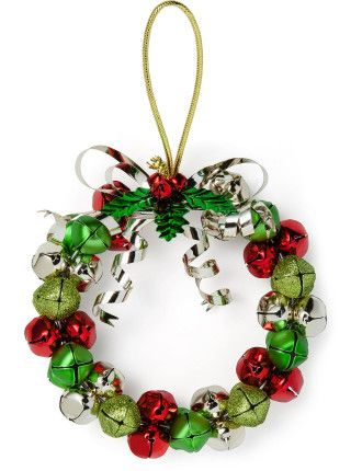 Jingle Bell Wreath Multi