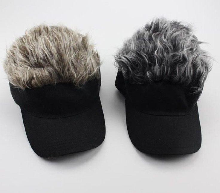 Wig Cap Adjustable Unisex Flair Hair Visor Hat Casual Golf Caps Outdoor Hats   #Unbranded #Visor