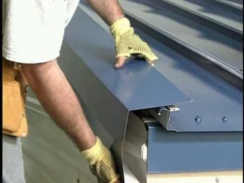 Metal Sales Standing Seam Magna Loc Youtube Roofing