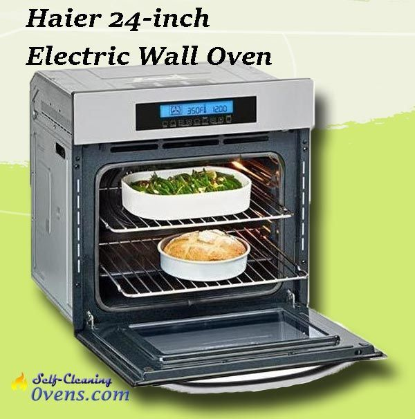 Haier 24 Single Convection Wall Oven Hcw2360aes Self Cleaning
