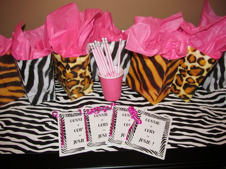 Cheetah Print Baby Shower Ideas | ... -signed.blogspot.com/ & 110 best cheetah party them images on Pinterest | Cheetah party ...