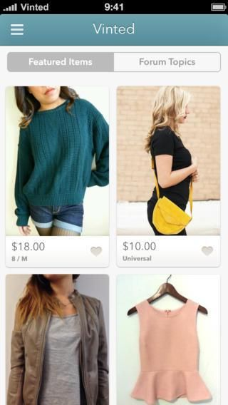 vinted mobile app to sell your unwanted clothes... forget about fancy department stores, I win the lottery I am spending a chunk of it on vinted. why not give second hand clothes new love?