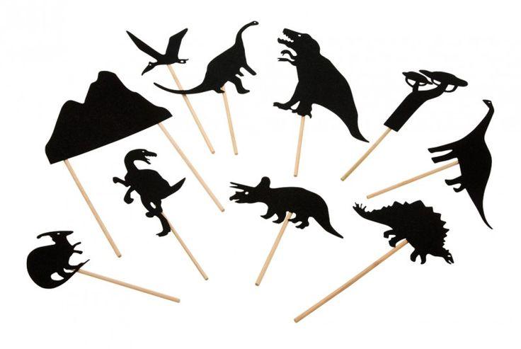 Schaduwspel `Dinosaurus`, Moulin Roty | BRIEVENBUSKADOOTJES | Villa Hoera