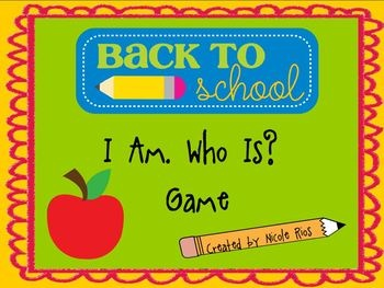"""Based on the popular """"I Have, Who Has"""" game, this activity card set is a great opportunity for everyone to learn each others name during the first week of school. $: Cards Sets, First Week, Back To Schools Activities, Schools Ideas, Teaching Ideas, Activities Cards, Schools Years, Classroom Ideas, Schools Games"""