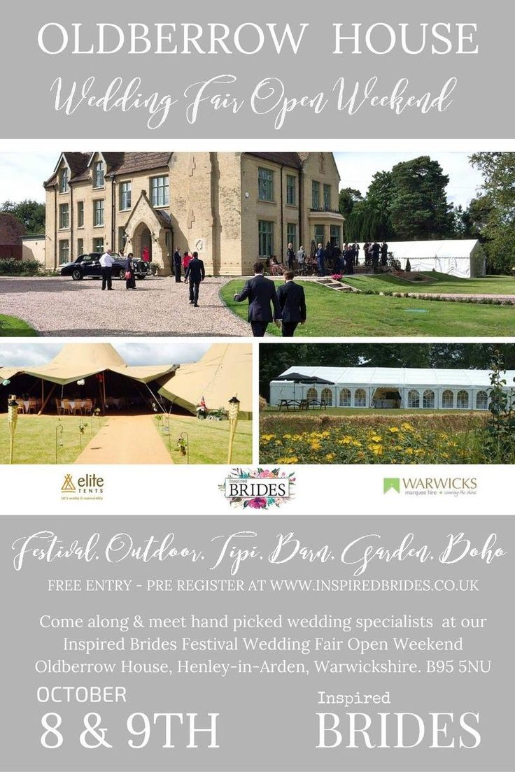 Don't miss out on this fantastic outdoor tipi wedding show! Lilly Dilly's will be exhibiting there on Sunday 9th October! #wedding #inspired brides #bride #groom #tipi #oldberrow house