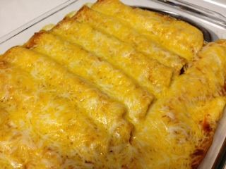 Chicken Enchilada Recipe - start with a rotisserie chicken to make it easy!