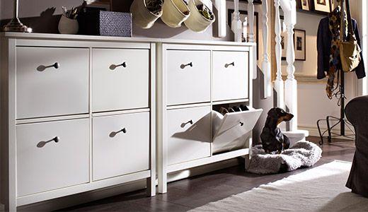 ber ideen zu hemnes schuhschrank auf pinterest. Black Bedroom Furniture Sets. Home Design Ideas