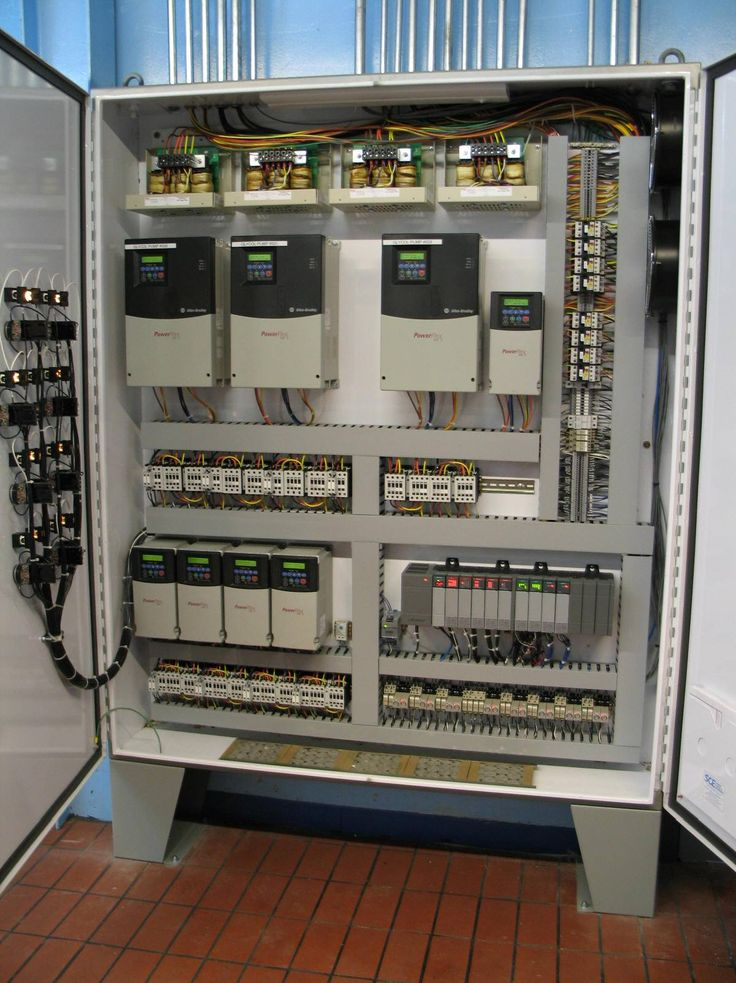 Custom Pump Panel. Nice wiring. What do you think