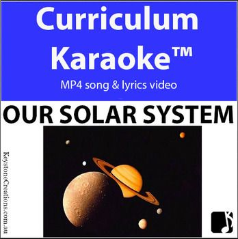 A fact-laden, curriculum-aligned song that helps students learn and remember important facts about our solar system (Middle & Upper Primary). MP4 song & lyrics video ~ students READ, SING & LEARN along as the curriculum-aligned song plays and lyrics display on your classroom whiteboard and other technological devices!