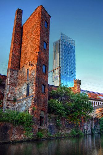 Manchester city of contrast !