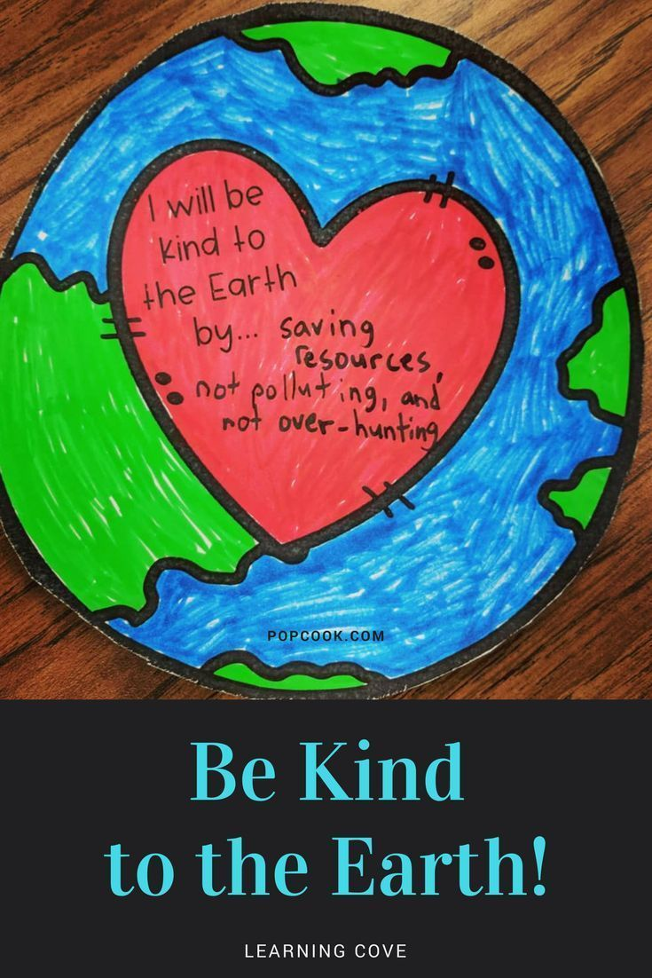 Be Kind To The Earth These Kindness Activities Will Get Your Students Thinking About Kindness And Th Earth Activities Earth Day Projects Earth Day Activities