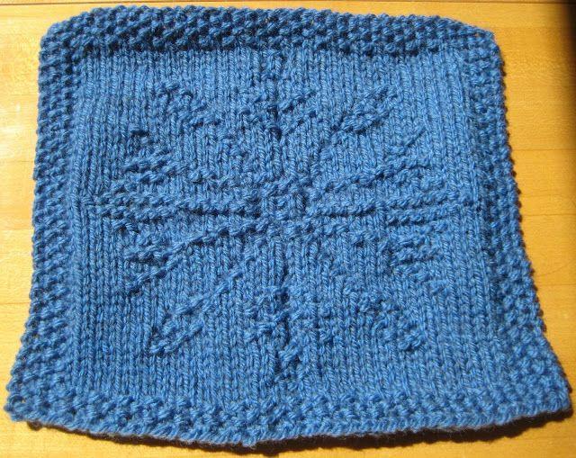 Knitting Pattern Snowflake Dishcloth : ChemKnits: Snowflake Knitting Chart V.2 Needlework Pinterest