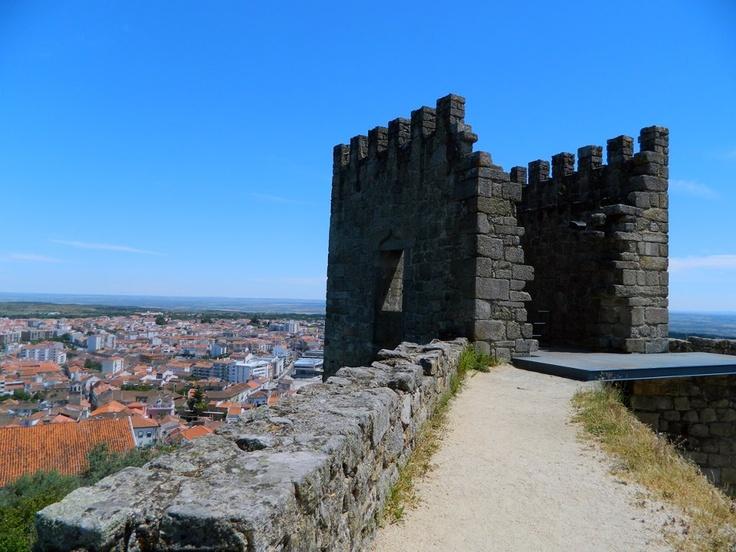 Castelo dos Templários — em Castelo Branco, Portugal.