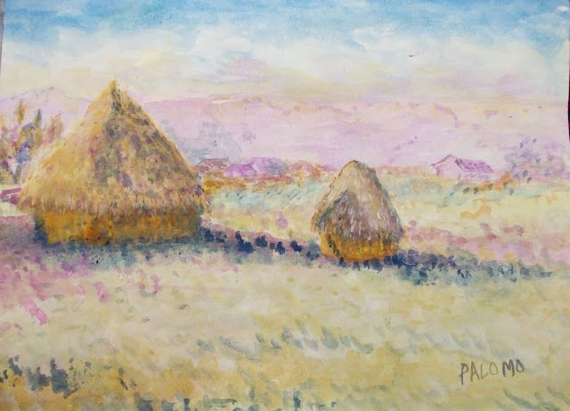 GALERIA PALOMO MARIA LUISA: OTROS ALMIARES NEVADOS...inspirada en obra de Clau...