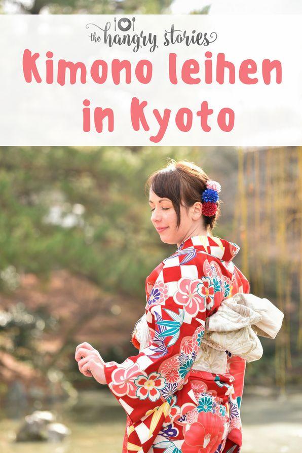 Wo man in Kyoto einen Kimono leihen kann, mit dem man den ganzen Tag durch die Stadt ziehen kann