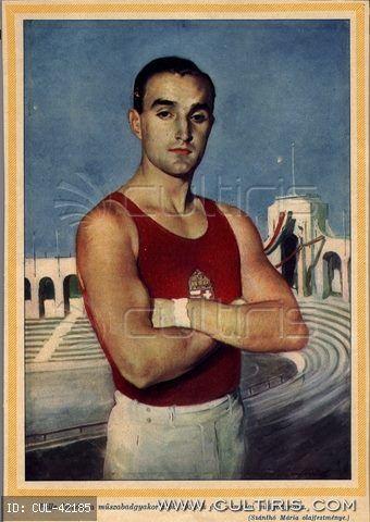 Ma lenne 109 éves Pelle István (Budapest, 1907. július 26. – Buenos Aires, 1986. március 6.) kétszeres olimpiai bajnok, világbajnok tornász. Isten nyugosztalja! (340×480)