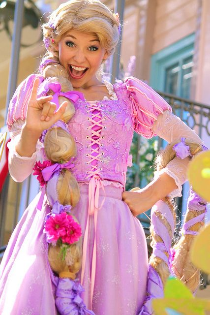 Someone's excited! It definitely fits the Rapunzel persona. Rapunzel-Soundsational | Flickr