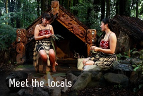 locals; Rotorua NZ