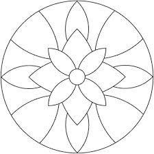 Resultado de imagen para plantillas para mandalas mosaiquismo