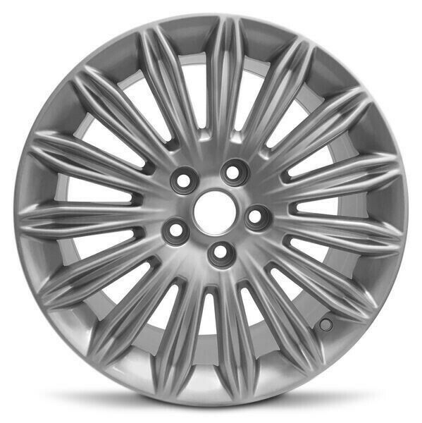 17 Silver Factory Replacement Wheel Fits 13 16 Ford Fusion 55mm