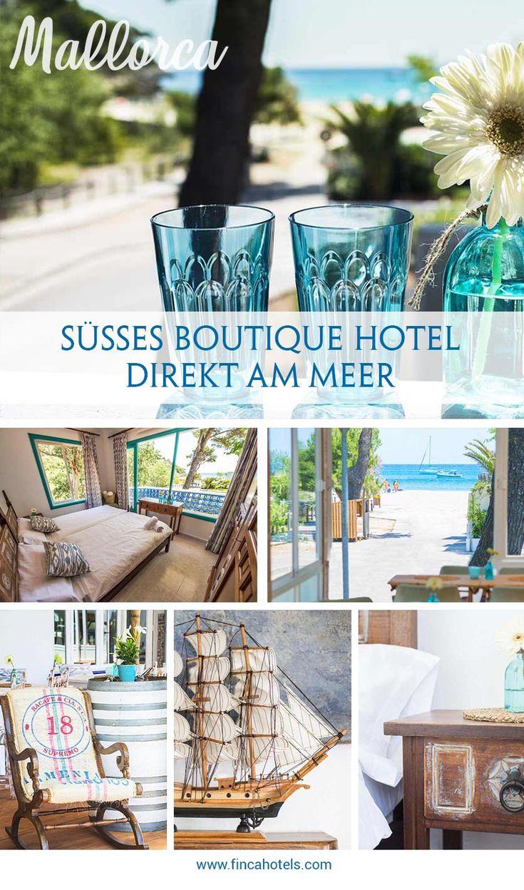 Urlaub auf Mallorca am Meer im Canyamar Beach Hotel in der Bucht von Canyamel Morgens schon vom Geruch des Meeres geweckt zu werden dem Kreischen der