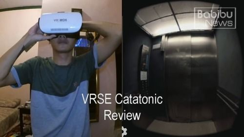 Scary Horror VR Review Virtual Reality Cardboard 360 3D SBS...