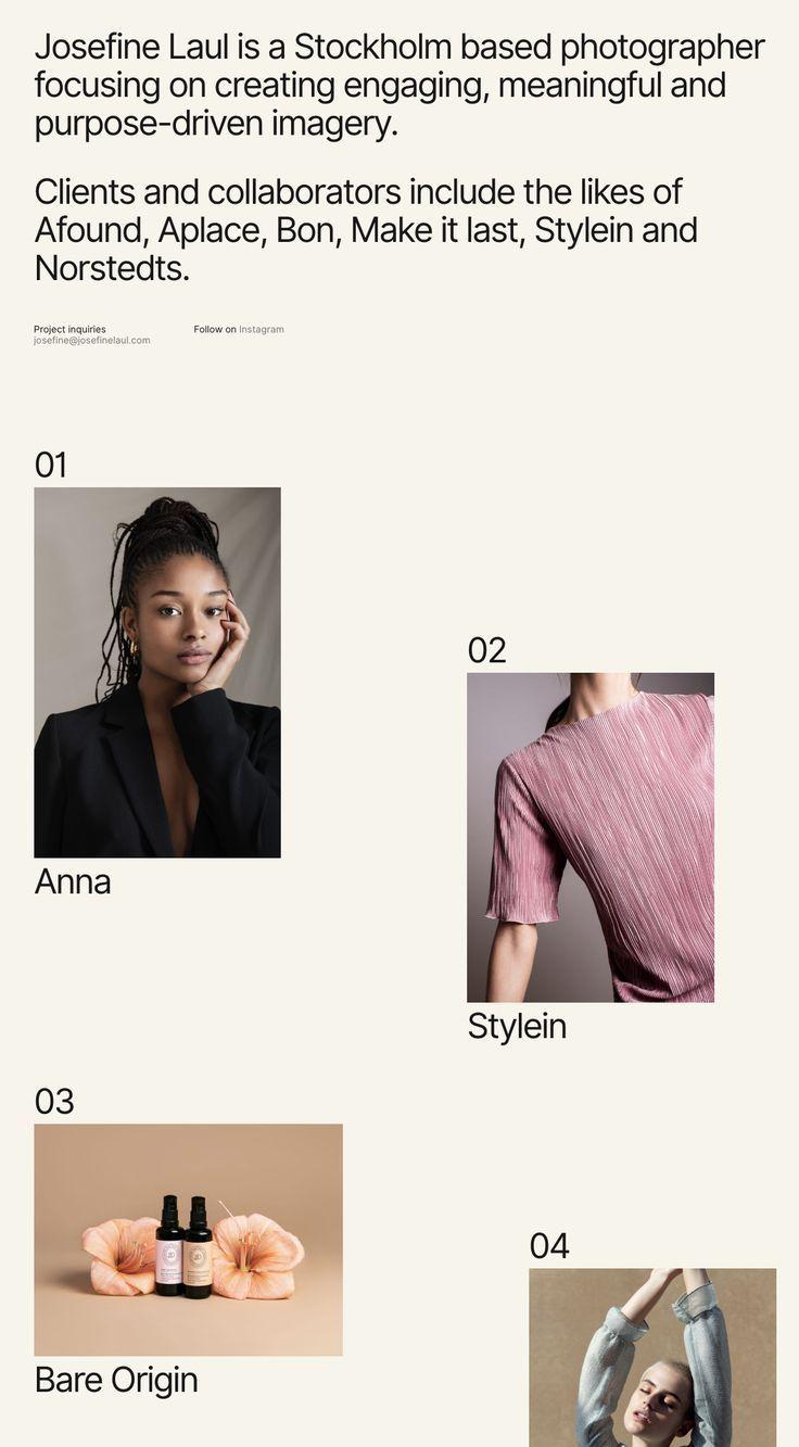 Simple minimal website layout ideas #minimalism #w…