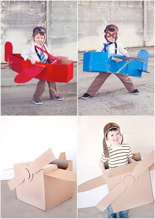 These are cute! We could make some for props to hang from the ceiling!
