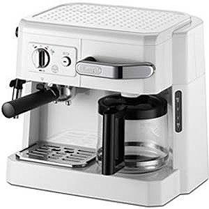 デロンギ「エスプレッソマシン兼用」コーヒーメーカー BCO410J‐W (ホワイト)
