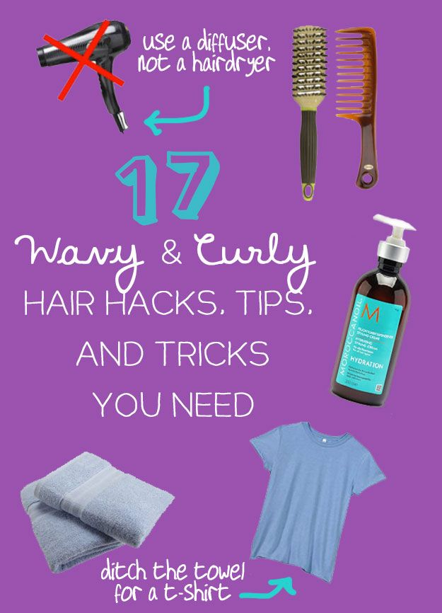17 Wavy and Curly Hair Hacks, Tips and Tricks You Need ...
