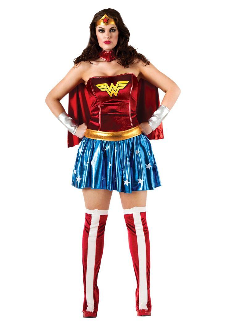 Disfraz de Wonder Woman talla grande | Comprar