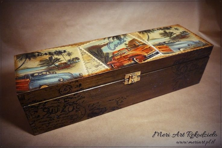 Wooden box forbottle of vodka, handmade gift for men :)