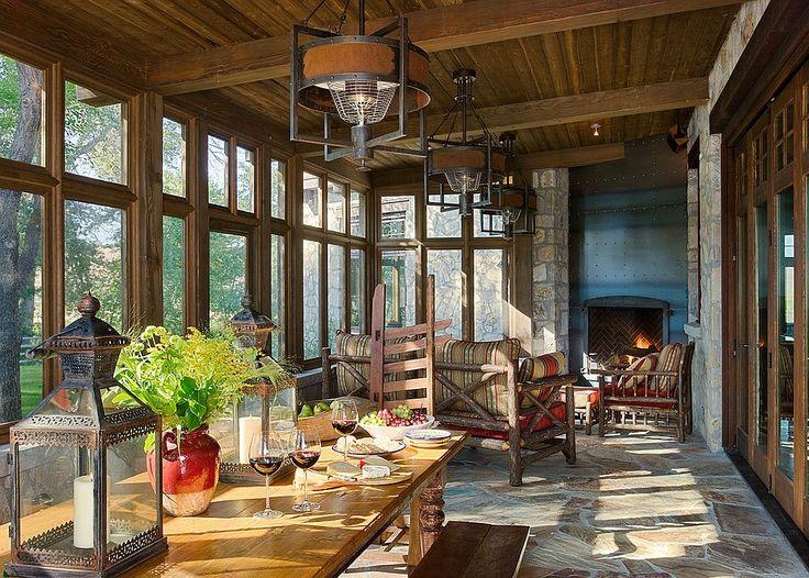 Best 25 Rustic Sunroom Ideas On Pinterest Barn Doors