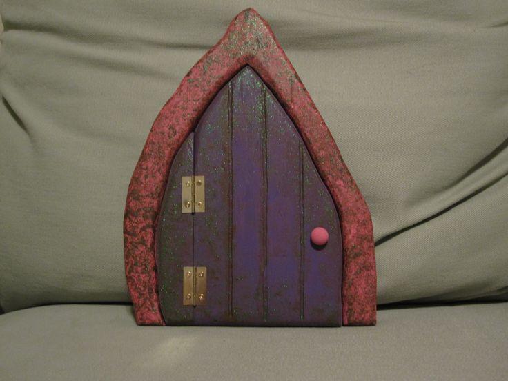 33 best images about fairy doors on pinterest gardens for Homemade elf door