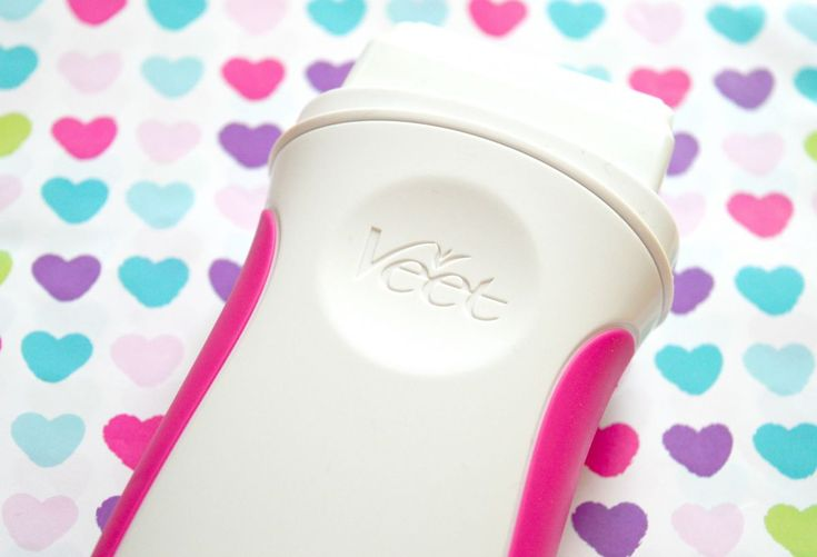Soft Silky Legs With The Veet Electrical Roll-On Kit