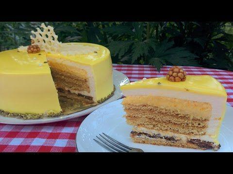 Муссовый медовик ❤ Муссовый торт Современный медовик ❤ Cooking with Love смотреть онлайн - Luxfilm