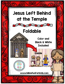 4.4. Jesus Stays Behind at the Temple