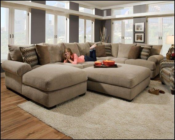 Deep Comfy Sectional sofa