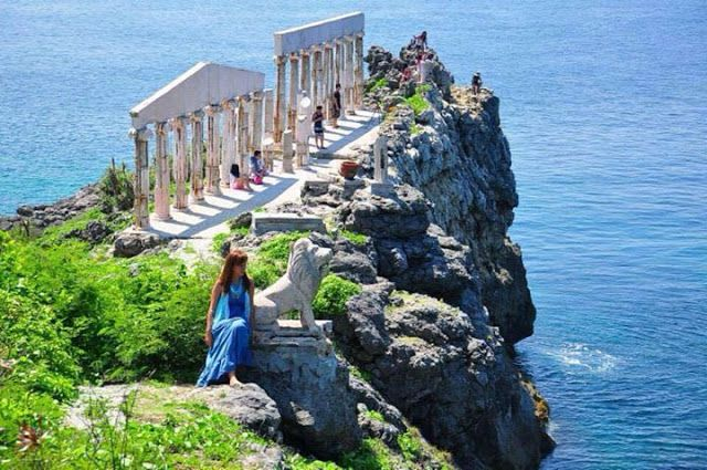 Fortune Island In Batangas Day Tour The Little Santorini Of The Philippines Places To Visit