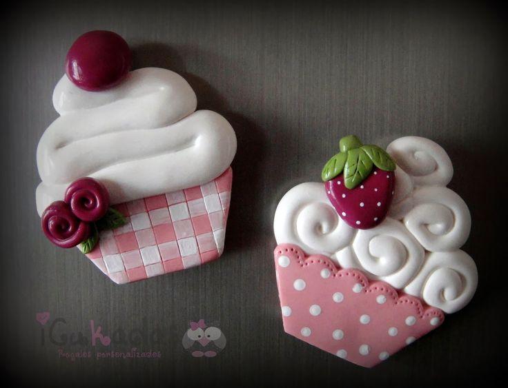 Fimo cupcakes
