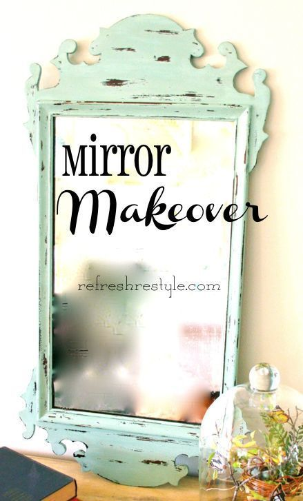 about mirror makeover on pinterest diy bathroom mirrors mirrors