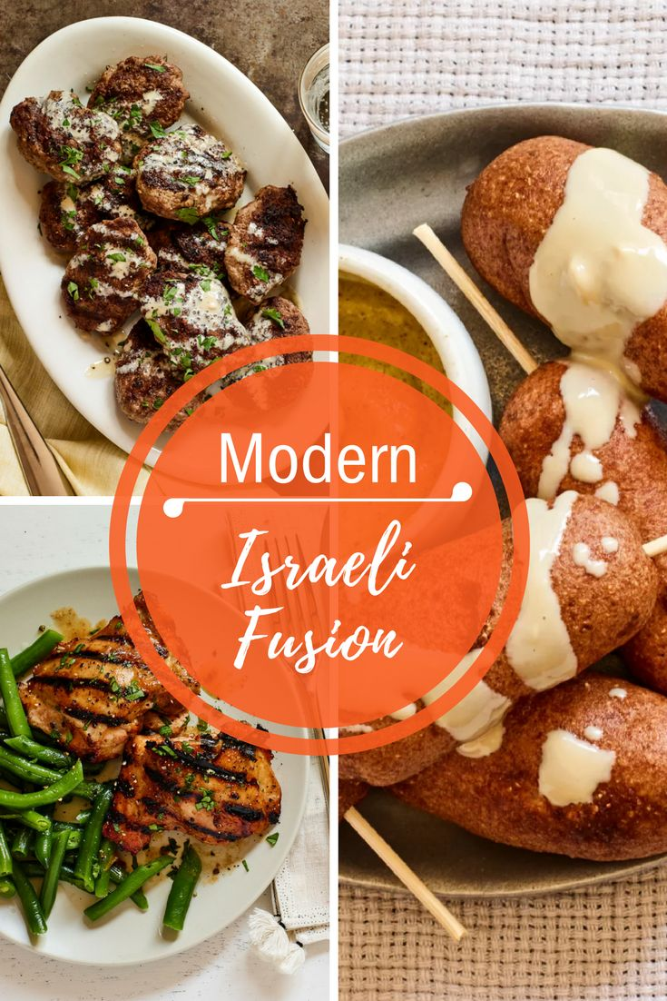 Express yourself with new twists on Israeli favorites this month! These recipes are as unique as Israel itself, bringing together diverse  flavors and textures, woven into the tapestry of tradition and Middle  Eastern culinary customs.