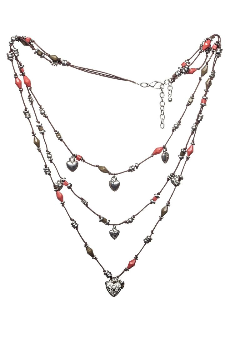 Khaki Rose Heart Necklace   http://www.mistral-online.com/accessories-c10/jewellery-c43/necklaces-c77/khaki-rose-heart-necklace-rose-khaki-silver-p28188
