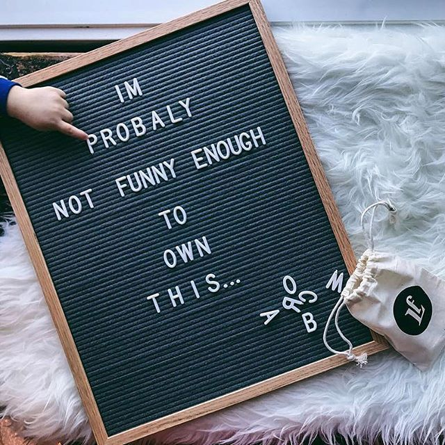 "If you find yourself not knowing what to put on your letter board, you're not alone (swipe left)! And if these boards are any indication, you're already doing better than you know!  When in doubt, you can never go wrong with ""Error 404."" 