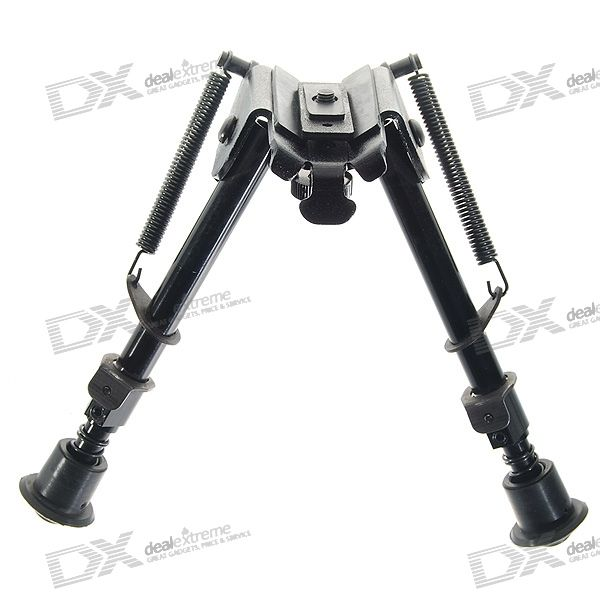 21cm Universal Steel Rifle Bipod for Rifles (Universal Mount)  Price: $21.99