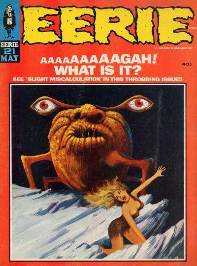 Eerie pulp sci-fi magazine                                                                                                                                                      More