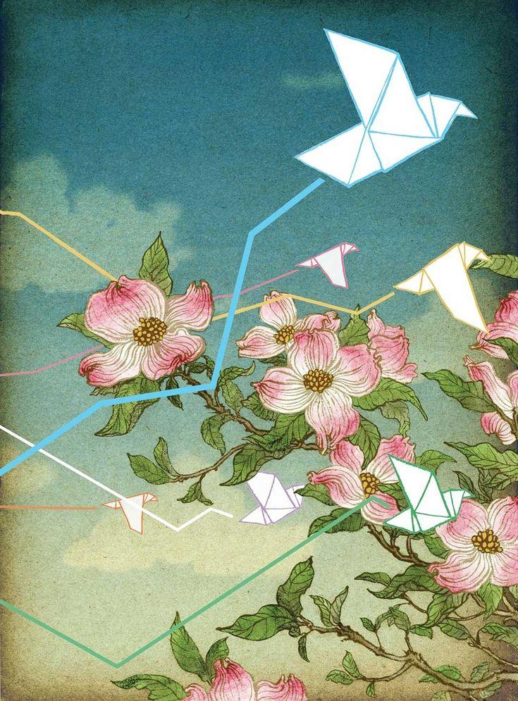 Иллюстрации Юко Шимицу. Японский взгляд из Нью-Йорка - Все интересное в искусстве и не только.