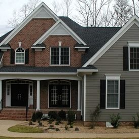 31 best siding color options for red brick homes images on pinterest